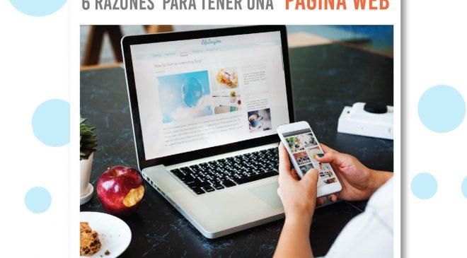 """6 Razones para tener una página #WEB al día"""""""
